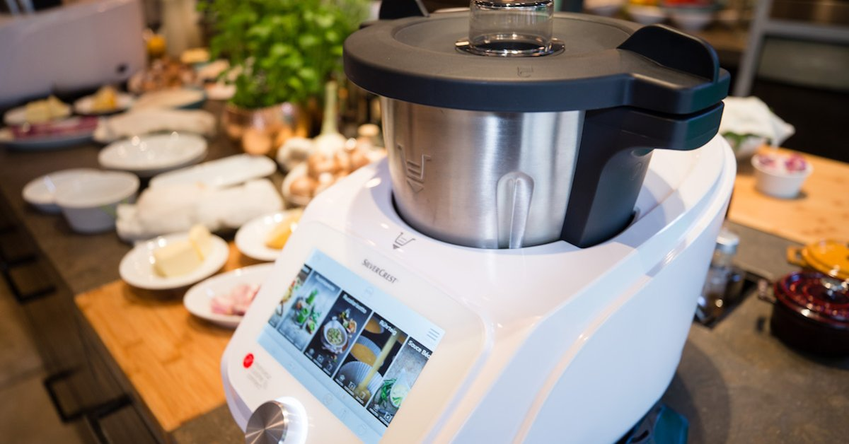 From Now On In The Lidl Branches Thermomix Klon Monsieur Cuisine Connect De24 News English