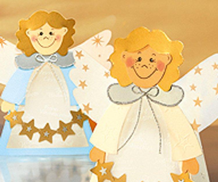 Engel Fensterbild Basteln Familiede