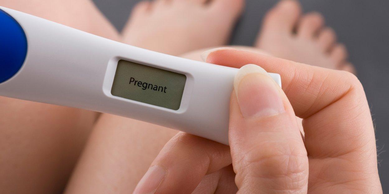Schwangerschaftstest negativ überfällig Eine Woche