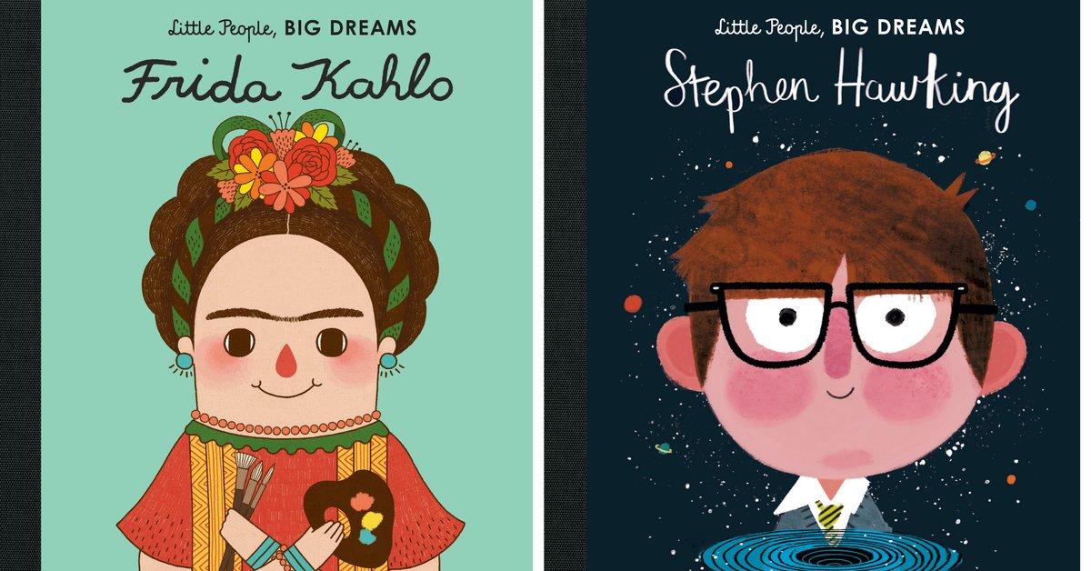 Little people, big dreams: Kinderbücher die Mut machen | familie.de