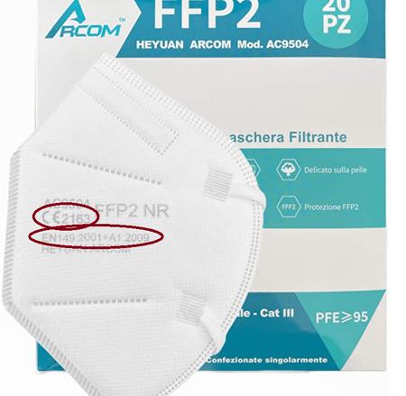 FFP2 Zertifizierung