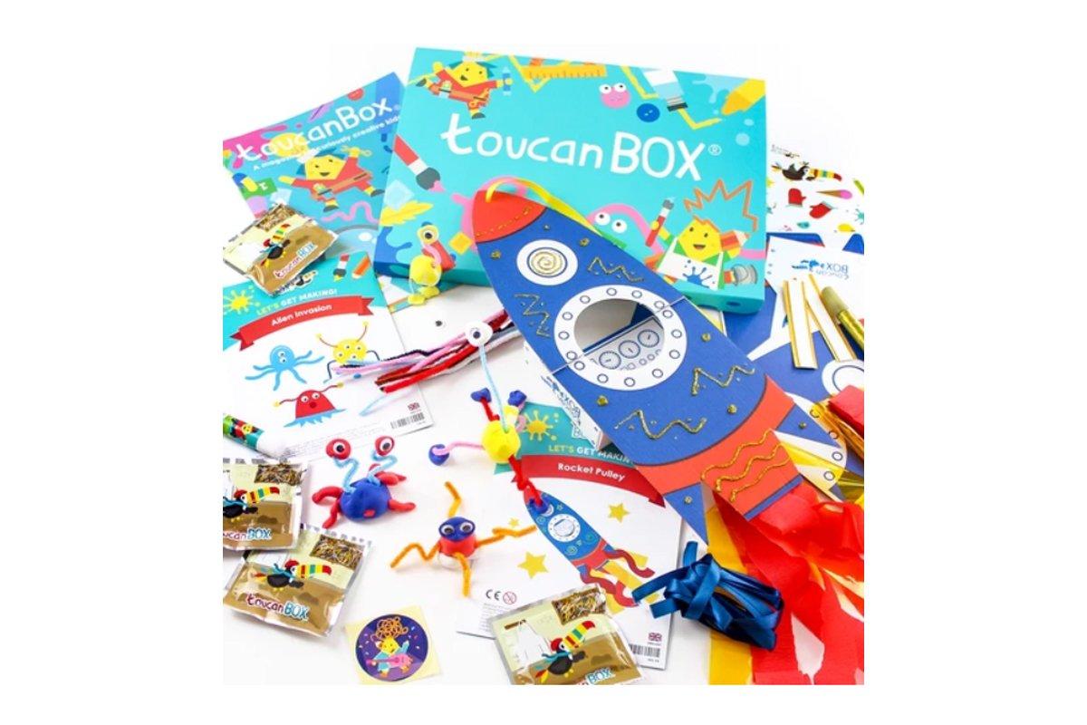 Bastelboxen für Kinder: Toucan Box