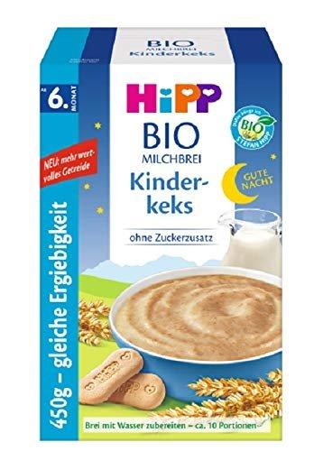 Babynahrung im Test: Hipp Milchbrei Kinderkeks BIO