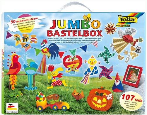 Bastelboxen für Kinder: Jumbo Bastelbox von Folia