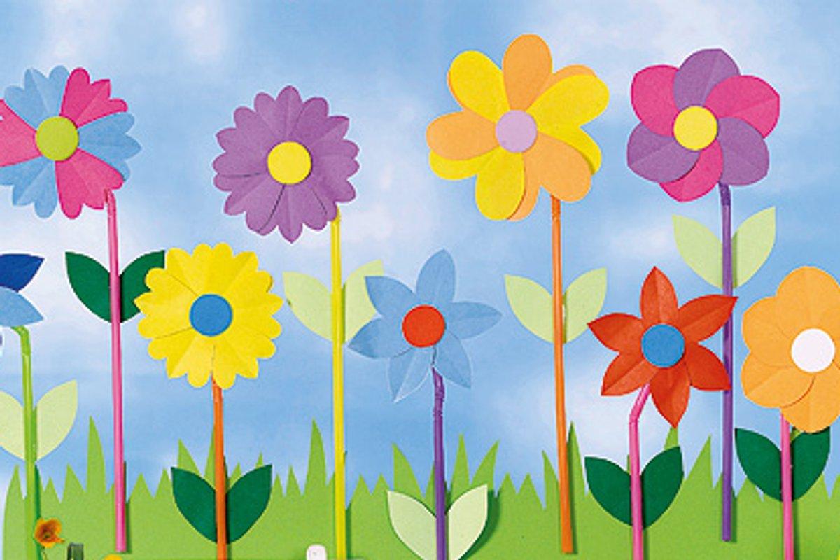 Blumen Ausmalbilder Vorlagen Blumen Basteln 1