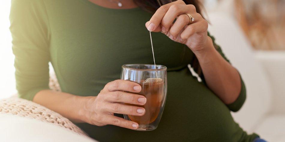 schwangerschaft salbeitee trinken
