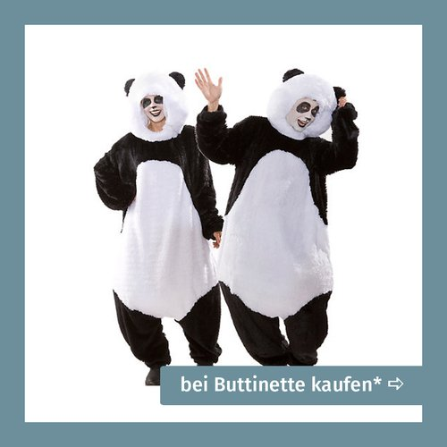 Kostüme für Schwangere Panda