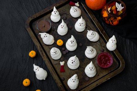 Halloween Rezept Baiser