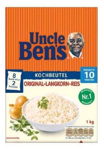 Uncle Ben's Rückruf