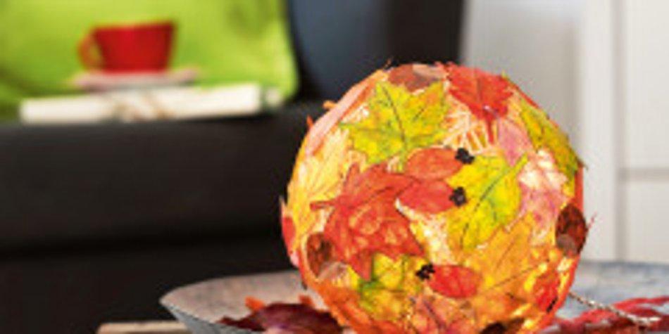 Herbstdeko Selber Machen Bunter Herbstzauber Familiede