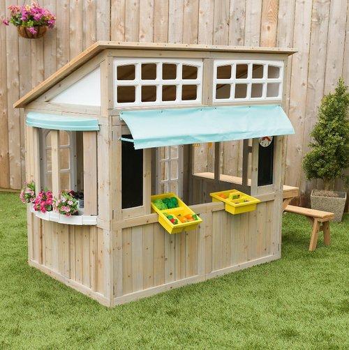 Kinder-Gartenhaus: Spielhaus Meadowlane Market vom KidKraft