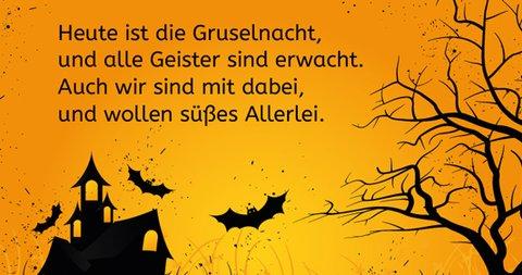 Halloween Sprueche Kinder.Halloween Spruche Und Reime Fur Kleine Grosse Gruselfans Familie De