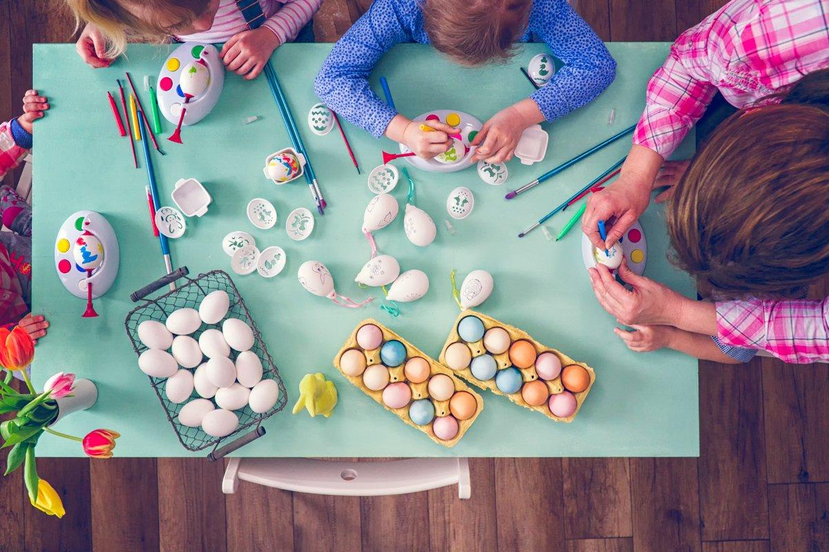 Was machen an ostern mit kindern