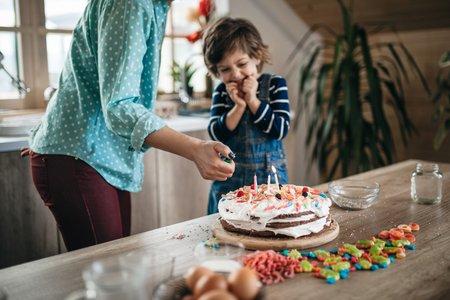 Schnelle Kuchen für den Kindergeburtstag