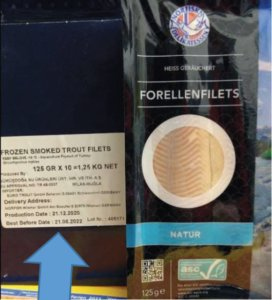 Forellenfilets Norfisk Netto Marken Discount
