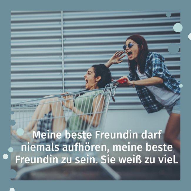 Text für gute freundin