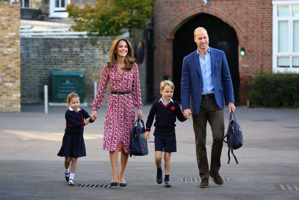 Kate Middleton und ihre Kids