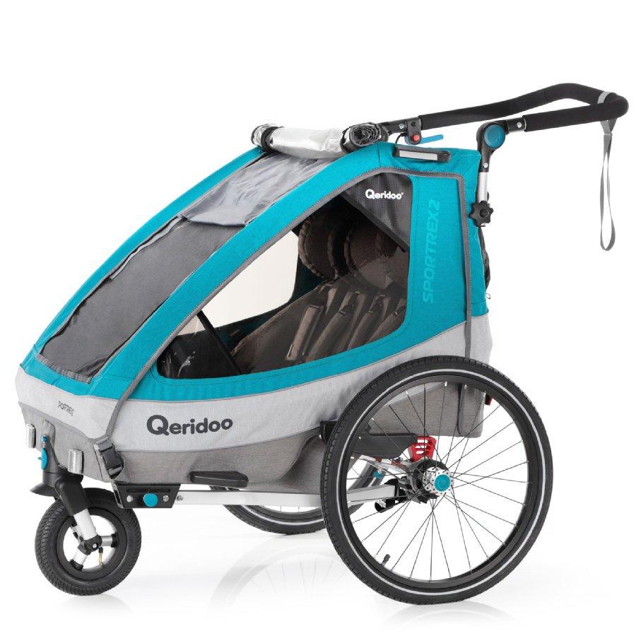 Qeridoo Sportex 2 Fahrradanhänger