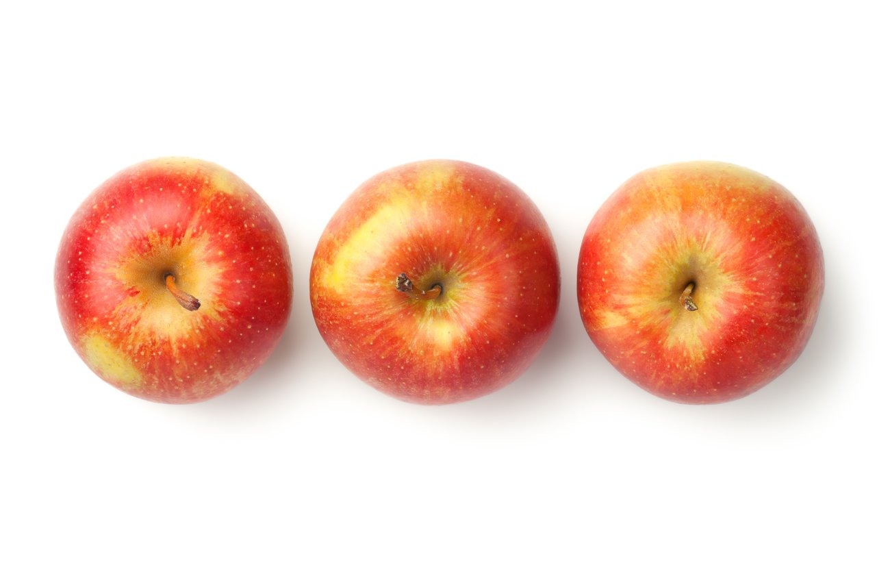 """An apple a day keeps the doctor away"" (altes englisches Sprichwort)"