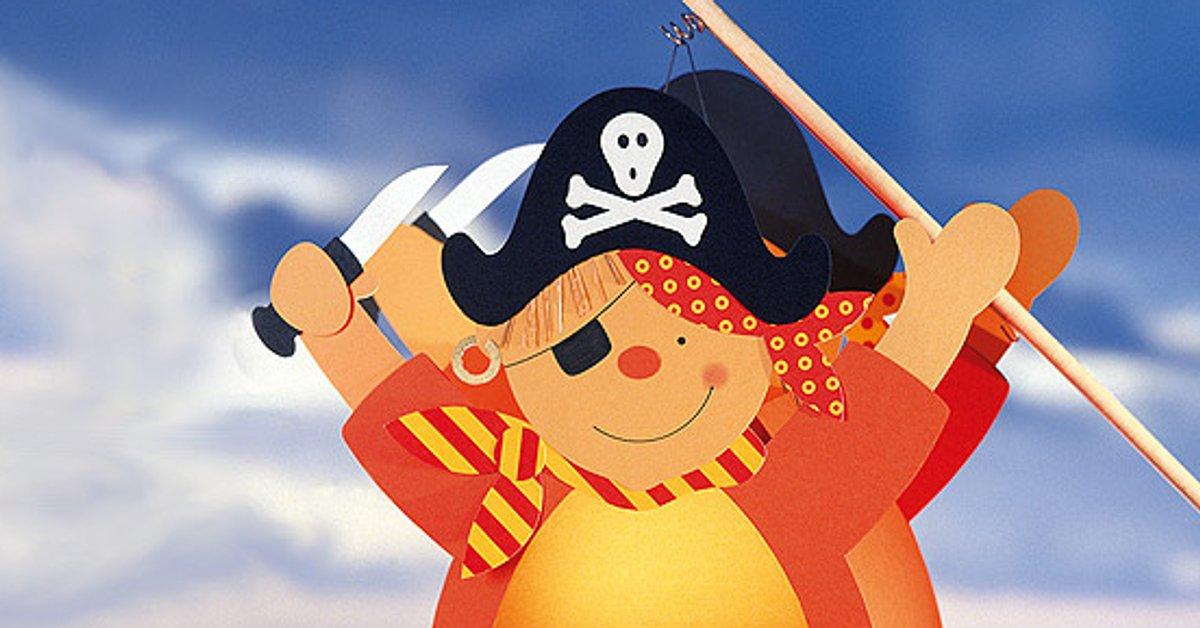 Lasst Uns Tolle Piraten Einladungskarten