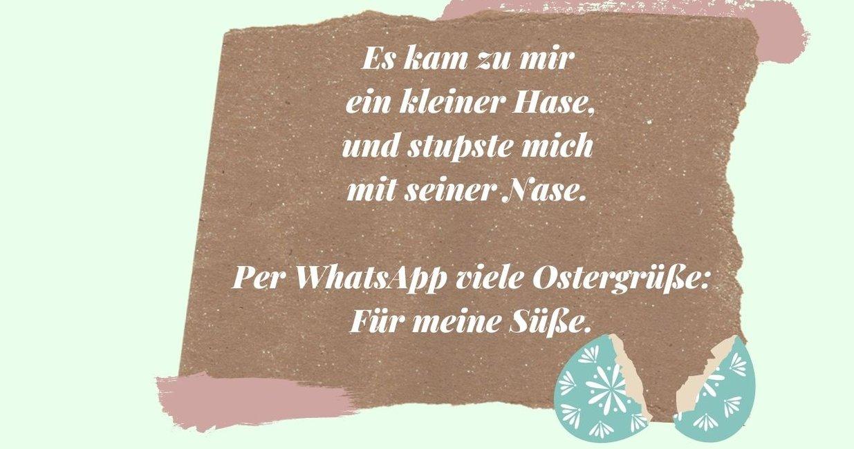 Süße whatsapp texte