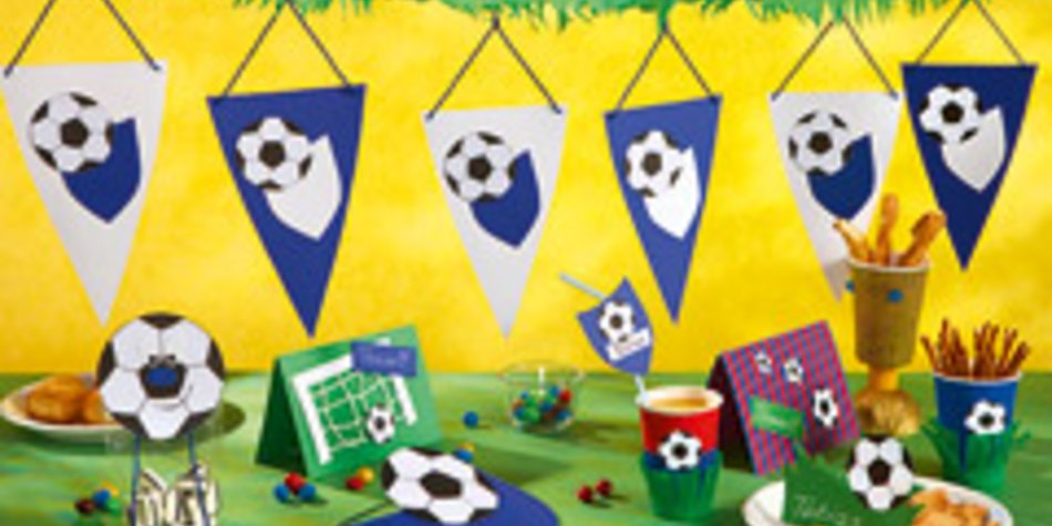 Basteln Fur Den Fussball Geburtstag Familie De