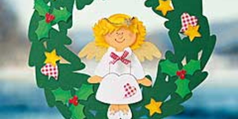 Engel Fensterbild Basteln Familie De