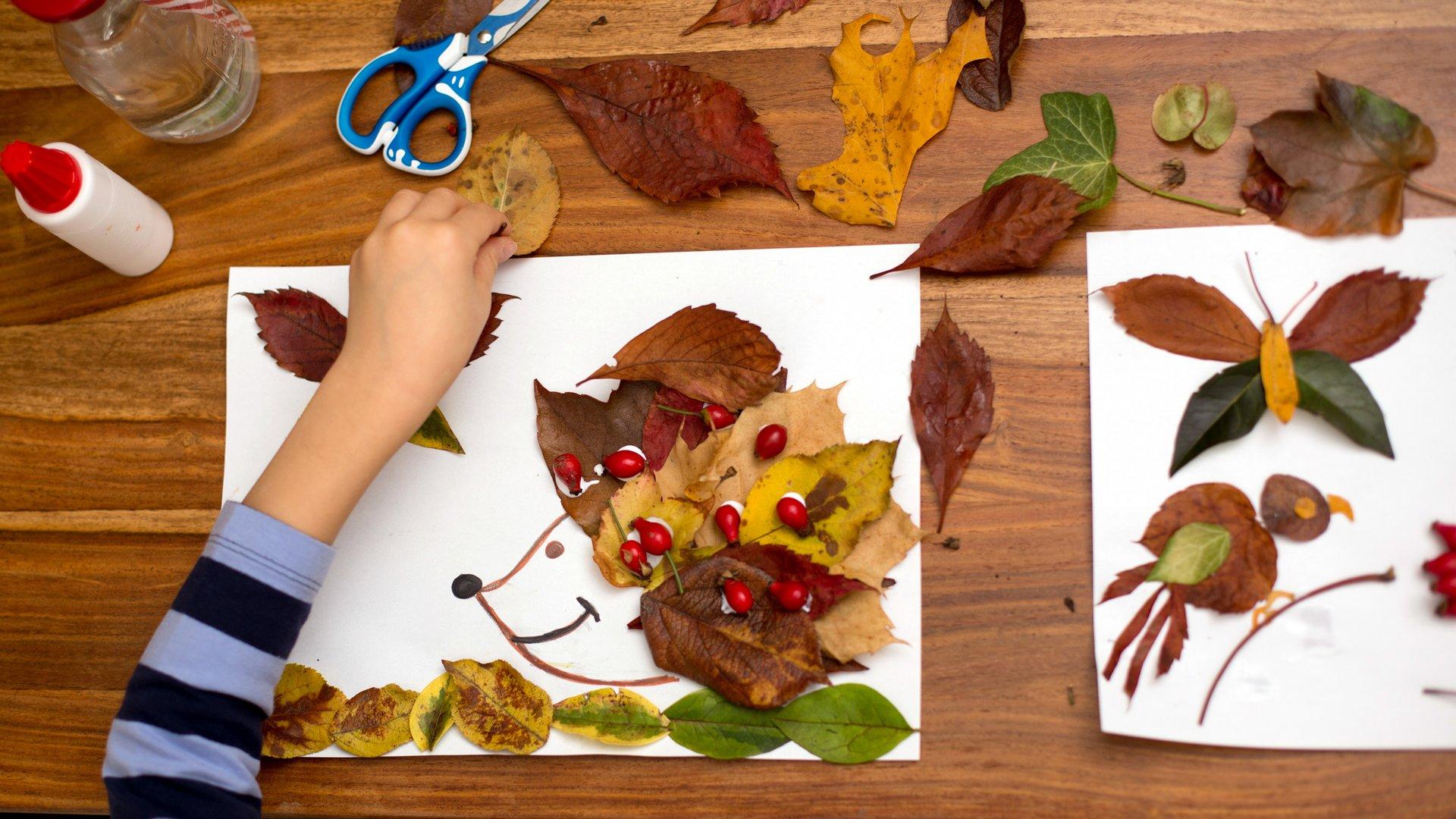 Herbst DIY Über 322 neue Bastelideen für Kinder ab 32 Jahren ...