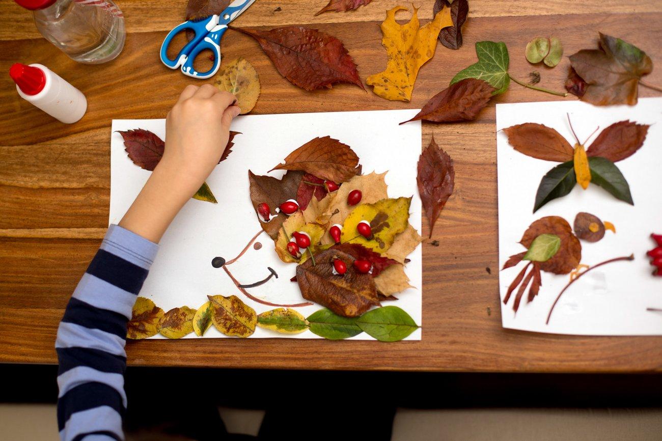 Bastelideen Herbst Kinder