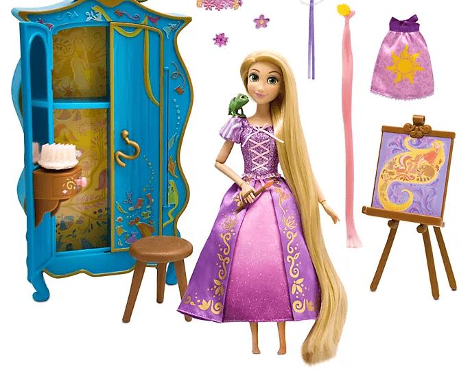 Disney Shop Rapunzel Spielfigur mit Schminktisch