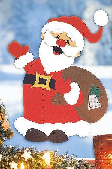 Weihnachtsmann Basteln Familiede
