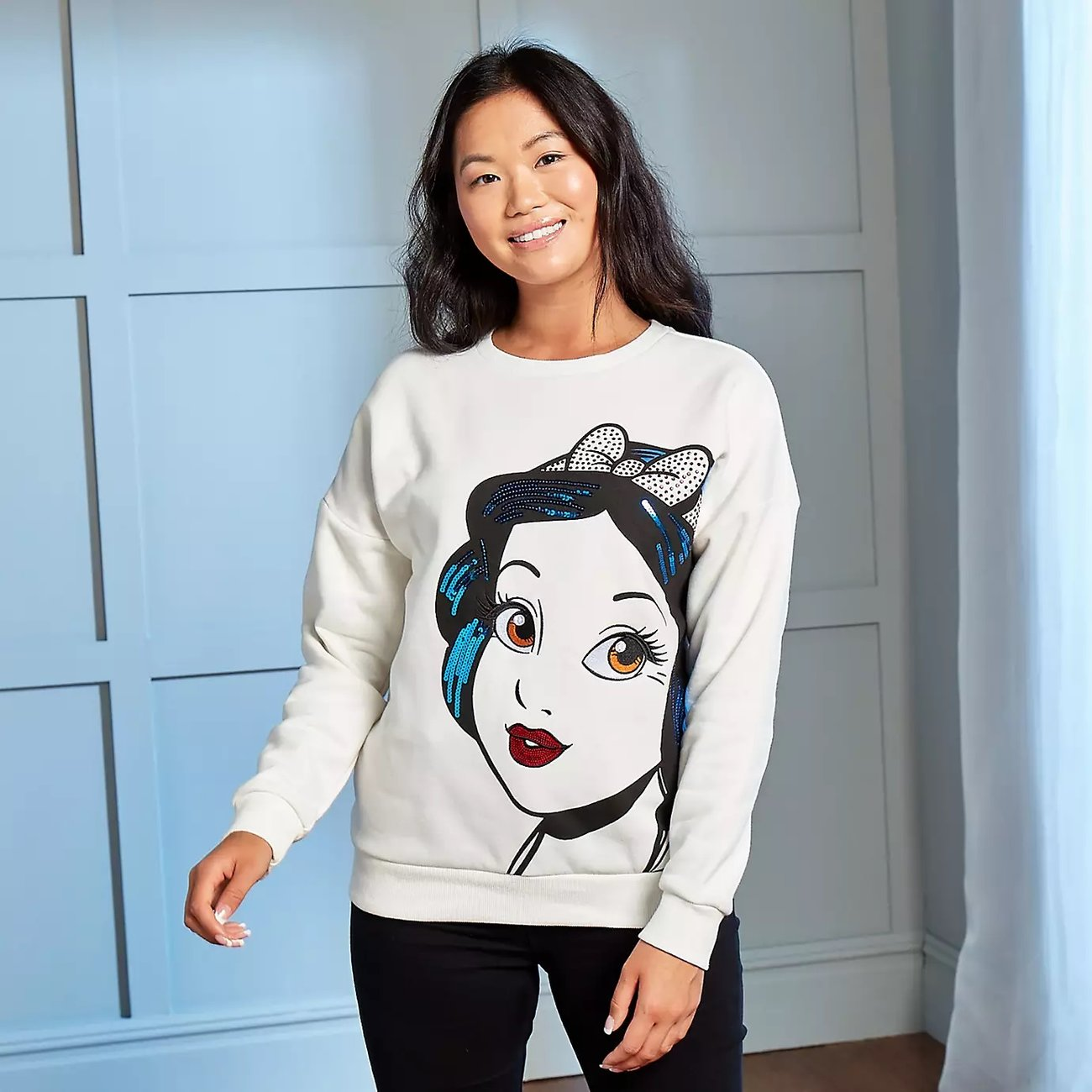 Disney Store Schneewittchen Sweatshirt Damen