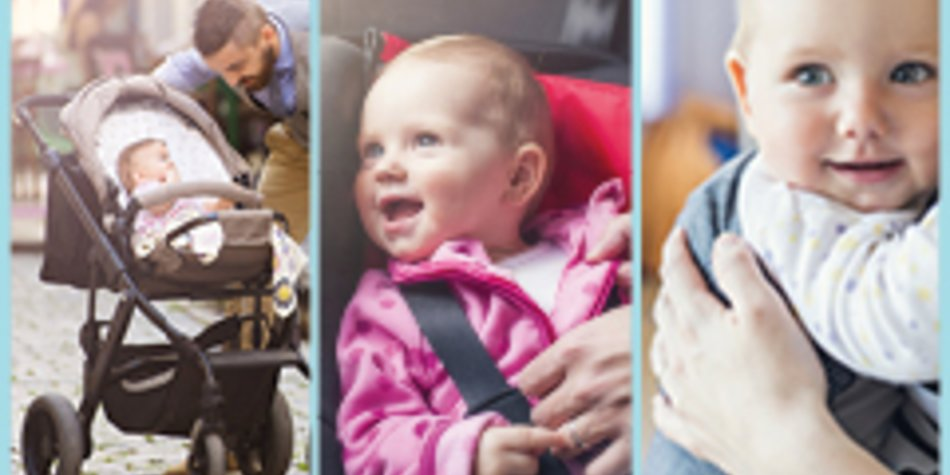 Kinderwagen & Co.: Mit Baby unterwegs