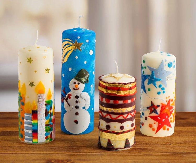 Tipps Kerze Mit Wachs Verzieren Kerzenfraulein 10