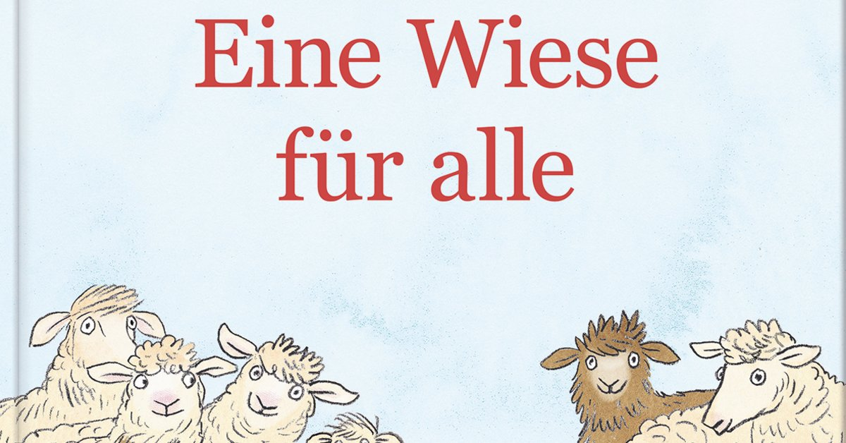 Eine Wiese für alle - Warum es ein Kinderbuch über Flucht braucht | familie.de