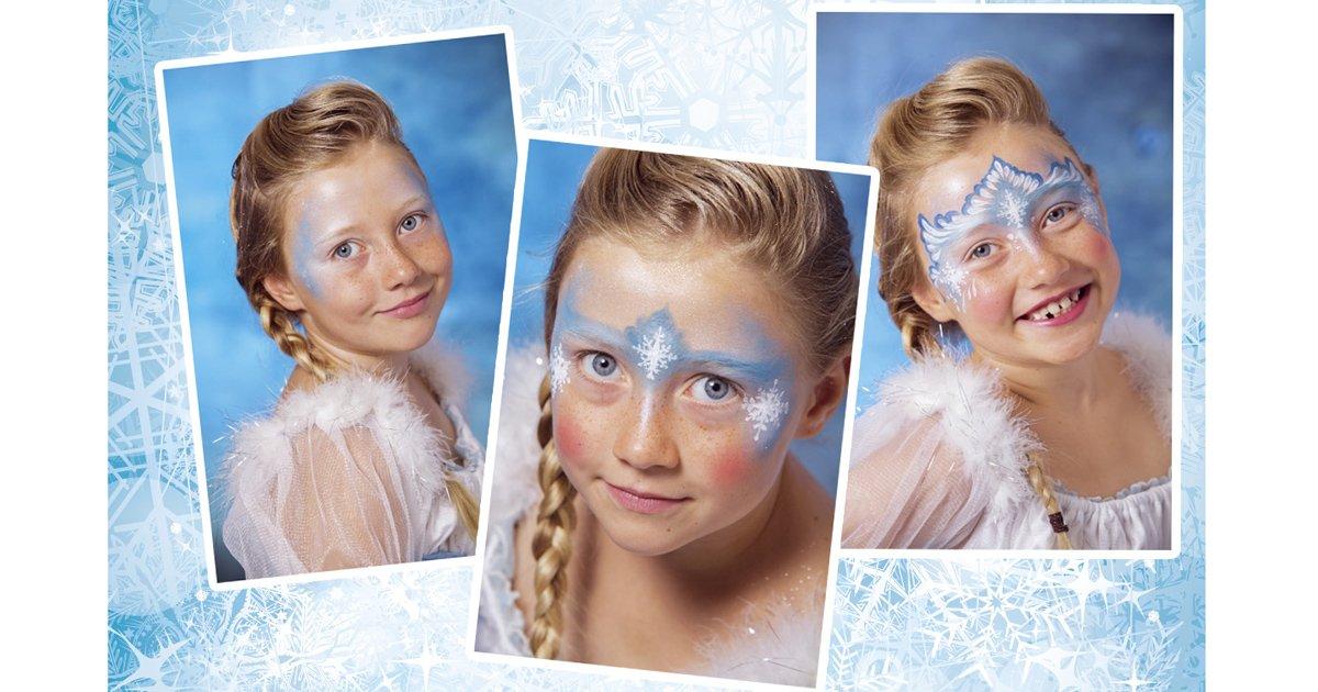 Elsa Schminken Diy In 4 Schritten Zur Eiskonigin Familie De