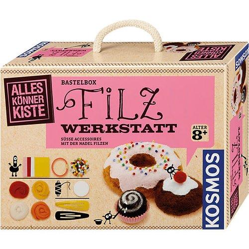 Bastelboxen für Kinder mit Filz