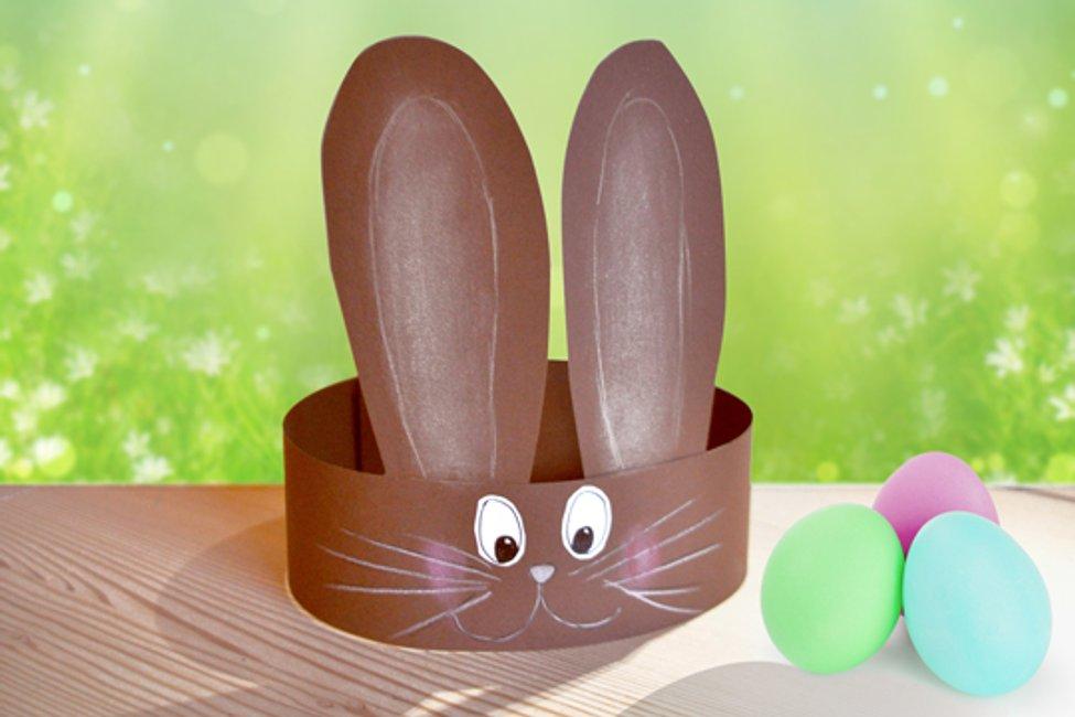 Easter Bunny Ears Template Basteln Ideen 4