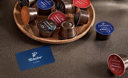 Tchibo Mitgliedschaft Mitgliedschaft mit Kaffee-Kapseln