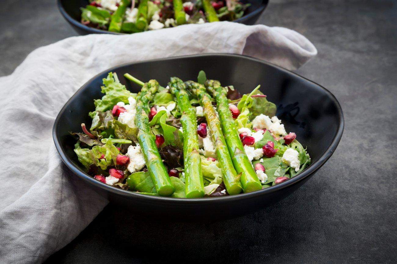 Spargel Salat vegan