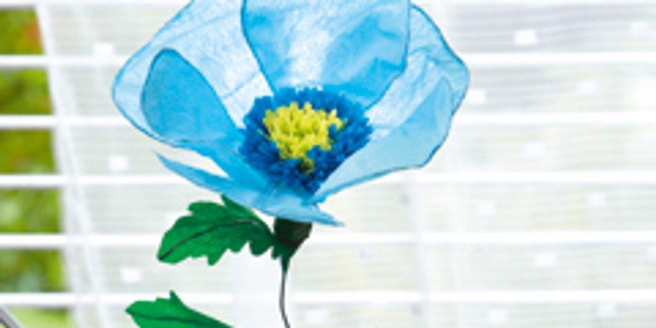 Anleitung Blumen Aus Krepp Papier Basteln Familie De