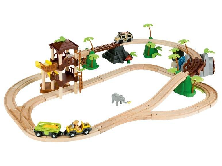 Playtive Lild Eisebahnset Dschungel