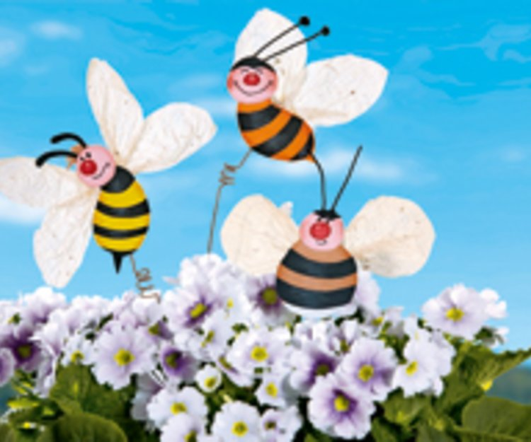 Biene Basteln Mit Papptellern Familiede