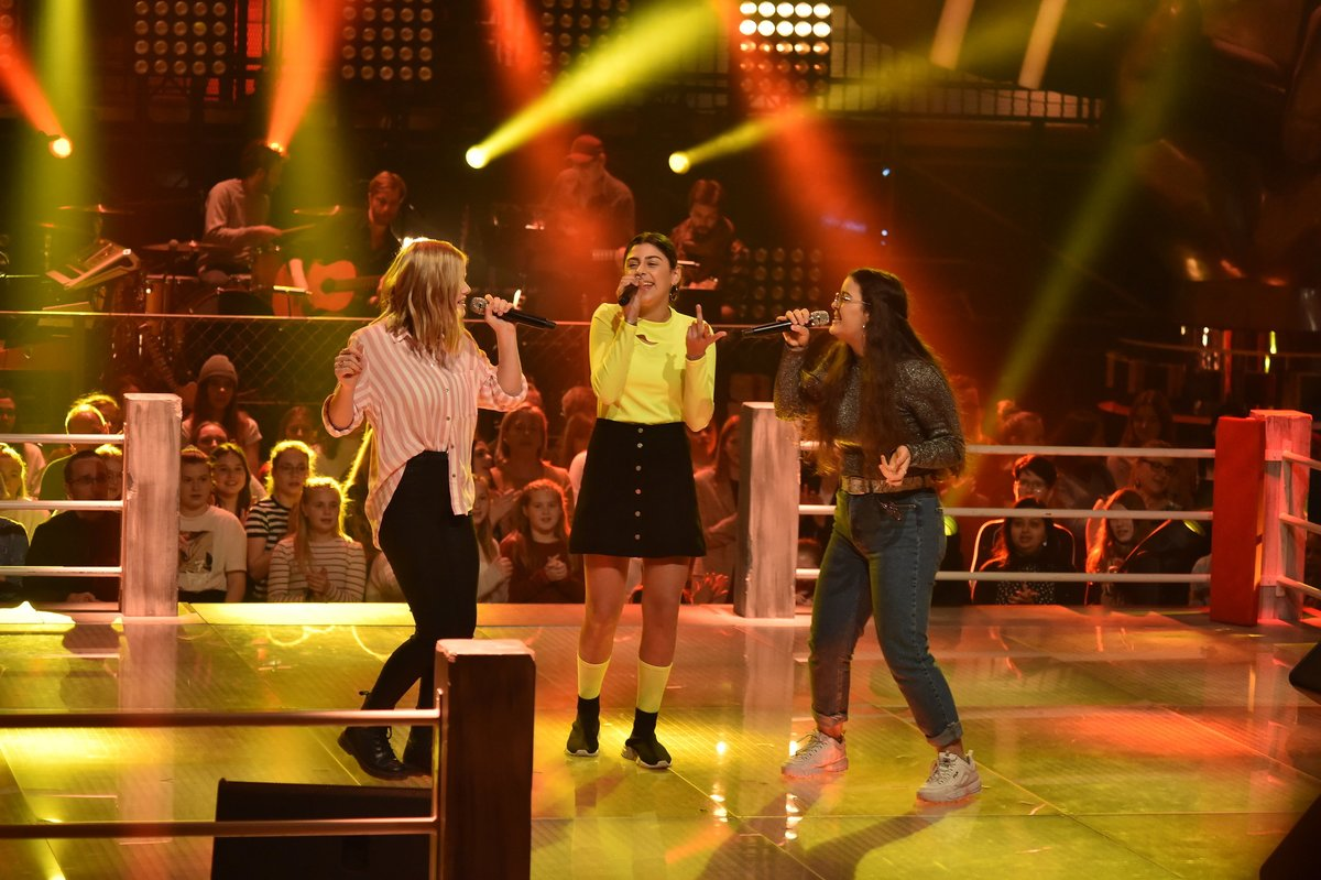 The Voice Kids Bouchra Suzan Anna P.