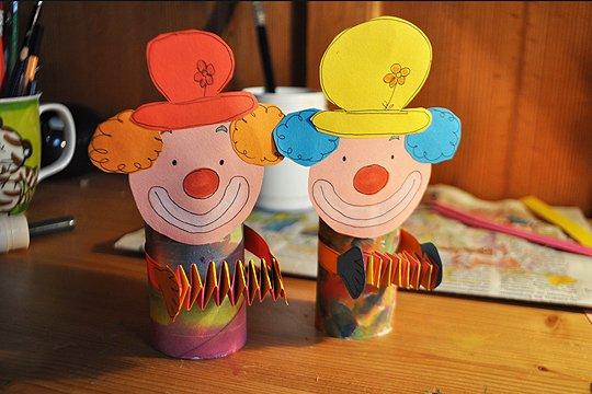 Ich Bastel Einen Clown So Einfach Gehts Familiede