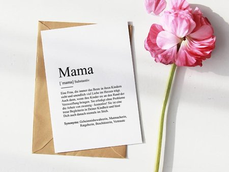 Muttertagskarte