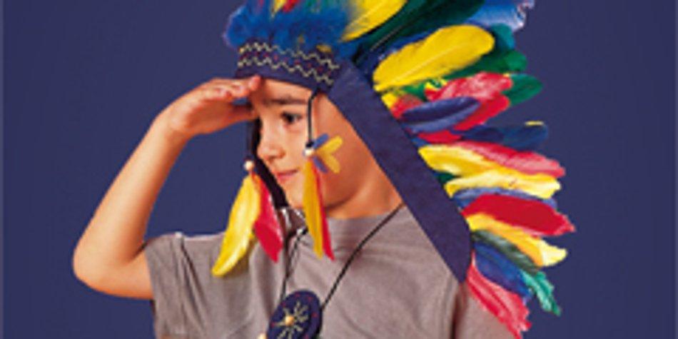 Indianerschmuck Basteln Fürs Indianerkostüm Familiede
