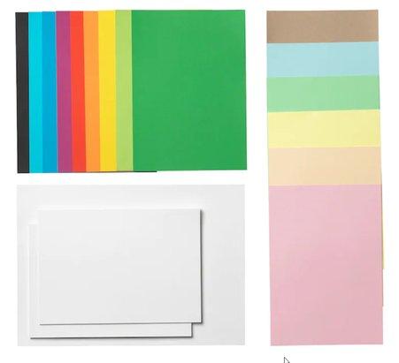 Mala Buntes Papier von Ikea