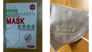 KN95 Maske nicht sicher Rückruf