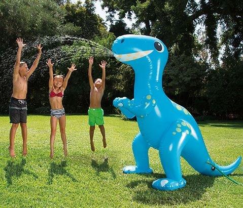 Wasserspritzender Dino Tchibo